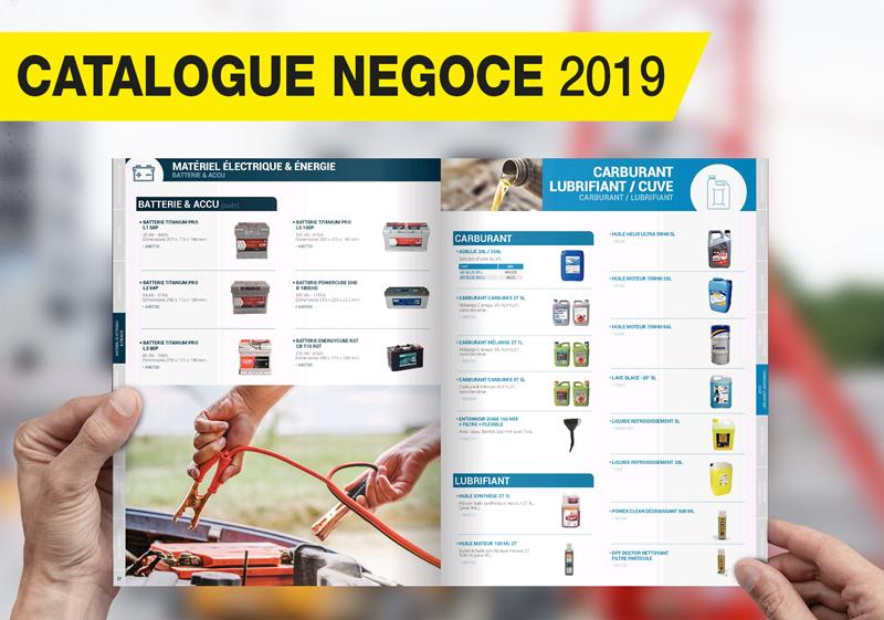 Équiper vos chantiers - Catalogue Négoce