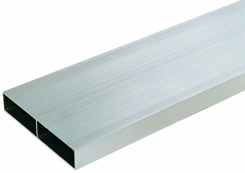 Regle aluminium rectangulaire 1 voile /l 4m sofop taliaplast - 380107