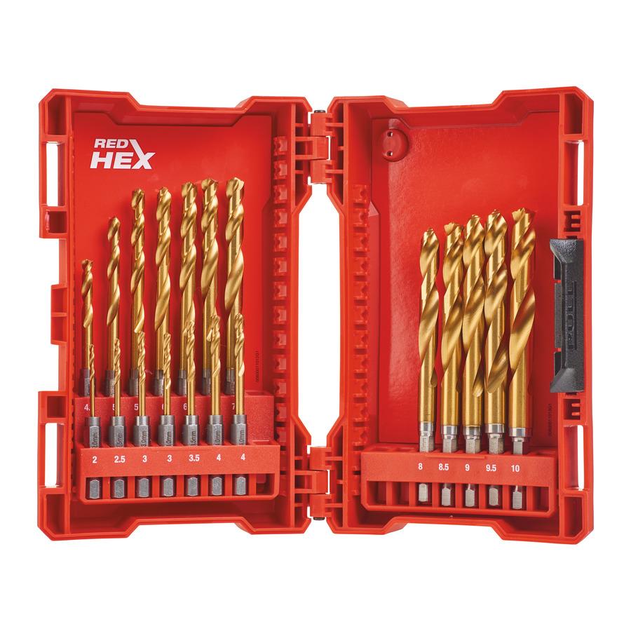 Set 19 foret hss-g schockwave milwaukee accessoires - 48894760
