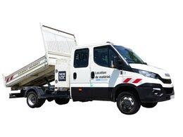 Camion benne 7 places PTC 3t5