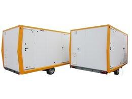 Roulotte isolée Bi-Energie sup. 750 kg