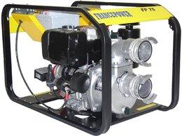 Pompe de chantier diesel 75m³/h