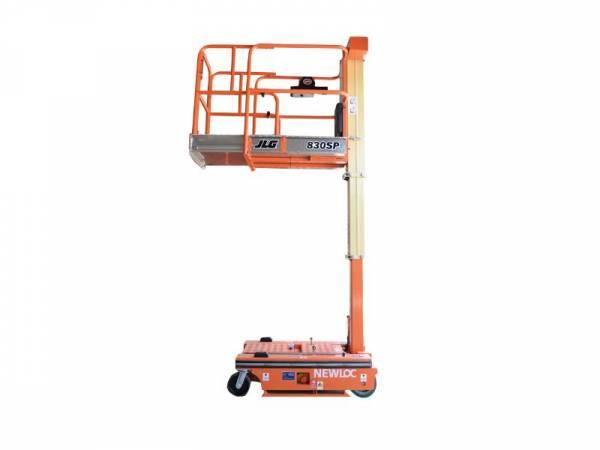 Nacelle Mât vertical élec/manuelle 4m50