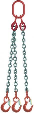 CHAINE ARRIMAGE 3,5M D10 Croch Linguet