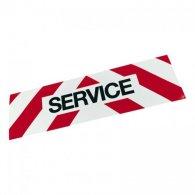 PLAQUE SERVICE MAGNÉT. 500MM X 150MM